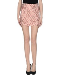 Mauro Grifoni Mini Skirts Light Pink