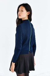 Kent Oslo Pullover Sweater Navy