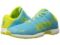 Inov 8 F Lite 240 Blue Lime White Women's Running Shoes