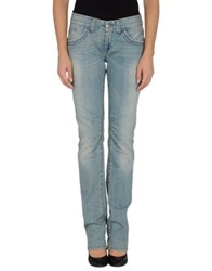 Save The Queen Denim Pants Blue
