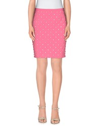 Moschino Couture Skirts Knee Length Skirts Women Pink
