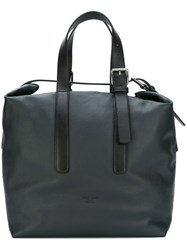 Giorgio Armani Adjustable Straps Medium Tote Black