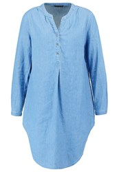 Only Onlnova Tunic Medium Blue Denim