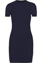 Richard Nicoll Cable Knit Mini Dress