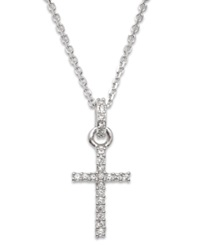 Swarovski Necklace Crystal Cross Pendant