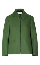 Dorothee Schumacher Touch Of Passion Boxy Jacket Green