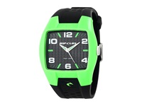 Rip Curl Pivot Fluro Green Pu Watches Black
