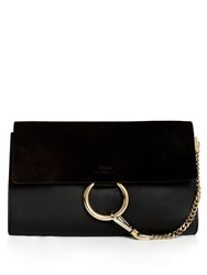 Chloe Faye Leather Clutch
