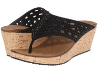 Skechers Cali Beverlee Dazzled Black Women's Sandals