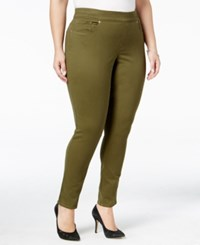 Levi's Plus Size Pull On Skinny Jeggings Soft Olive Leaf