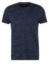 Jack And Jones Jpreugene Slim Fit Basic Tshirt Navy Blazer Dark Blue