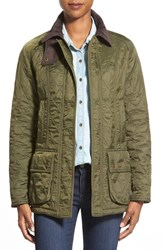 Women's Barbour 'Beadnell' Quilted Jacket Olive