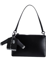Opening Ceremony Charm Zip Up Tote Bag Black