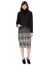 Raoul Classic Tailored Coat Black