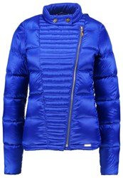 Liu Jo Jeans Down Jacket Blue Electric