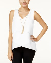 Thalia Sodi Layered Necklace Tank Top Only At Macy's Cloud