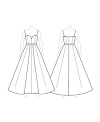 Customize Switch To Sweetheart Neckline Fame And Partners Sweetheart Neck Dress Palermo Floral