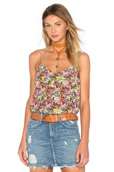 Equipment Layla Floral Cami Pink