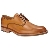 John Lewis And Co. Made In England Rufus Derby Shoes Tan