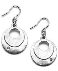 Kenneth Cole New York Earrings Dual Circle