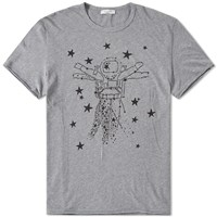 Valentino Spaceman Tee Grey
