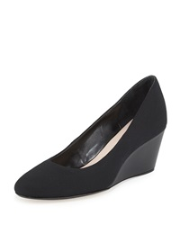 Taryn Rose Kathleen Closed Toe Wedge Black