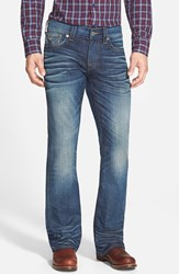 Men's True Religion Brand Jeans 'Billy' Bootcut Jeans Subway Blue