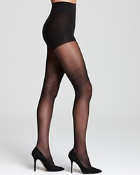 Dkny Tights Comfort Luxe Control Top 0A729 Black
