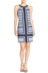Women's Vince Camuto Beaded Collar Shift Dress