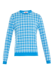 Orley Chaz Plaid Sweater