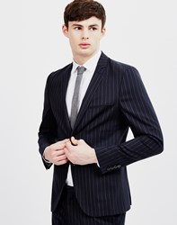 Selected Lou Alan Navy Stripe Blazer