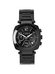 Links Of London Brompton Black Dial Chronograph Watch