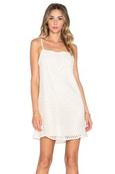 Whitney Eve Sunrise Beach Dress Cream