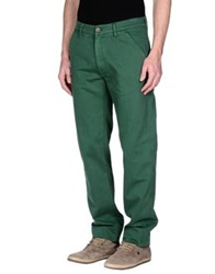 Levi's Made And Crafted Casual Pants Emerald Green