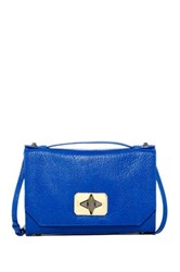 Treesje Harlow Leather Crossbody Blue