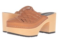 Swedish Hasbeens Camilla Nature Women's Clog Shoes Neutral