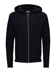 Jack And Jones Cotton Knit Cardigan Black