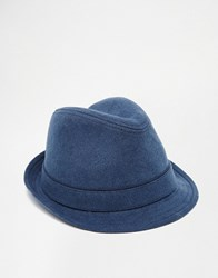 Esprit Trilby In Canvas Blue