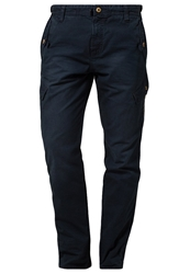Esprit Trousers Dark Night Blue Dark Blue