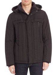 Tumi Woven Down Filled Jacket Black