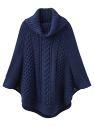 Joules Capability Poncho French Navy