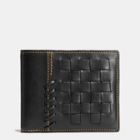 Coach Rip And Repair 3 In 1 Wallet In Glovetanned Leather Black
