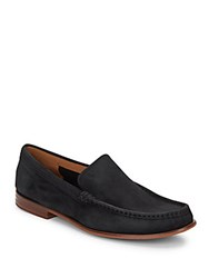 Cole Haan Topsail Suede Loafers Black