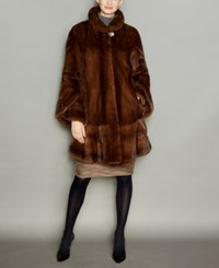 The Fur Vault Mink Coat Glow