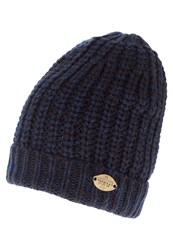 Scotch And Soda Hat Navy Melange Mottled Blue