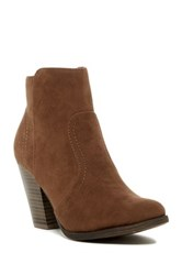 Oppo Heather Heeled Ankle Bootie Brown