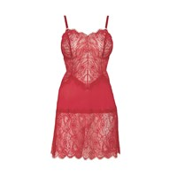 B.Tempt'd B.Sultry Chemise Red