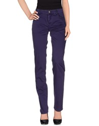 Ice Iceberg Trousers Casual Trousers Women Purple
