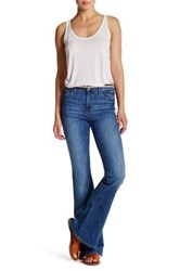 Dl1961 Heather High Rise Flare Jean Blue