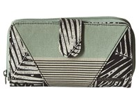 Dakine Faye Kona Stripe Wallet Handbags Green